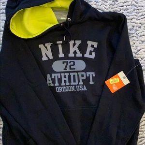 Nike hoodie sweatshirt new size large
